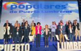 Presentación de María Ángeles Túnez como candidata del PP a la alcaldía de Puerto Lumbreras