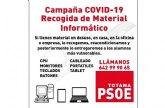 Acci�n Totana califica de ocurrencia la campaña de recogida de material inform�tico en desuso promovida por el PSOE local