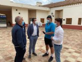 El joven de Cartagena 'Juanxo' y sus 400 kilómetros contra la Leucemia hacen escala en Mula