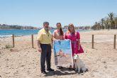 V concurso nacional canino en Puerto de Mazarrón