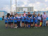 La Escuela Municipal de Fútbol celebró la clausura de una temporada repleta de éxitos