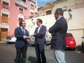 La Comunidad financia la remodelación de la Plaza de la Constitución de Ulea y el muro de acceso a la iglesia