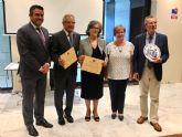 La Asociación de Amigos del Museo de la Huerta de Alcantarilla, recibe en Murcia el Homenaje por la Defensa y Conservación del Patrimonio 2019, que anualmente otorga la Asociación Patrimonio Siglo XXI
