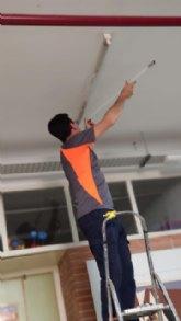 El Ayuntamiento sustituye a LED toda la iluminación de los dos colegios públicos de Alguazas