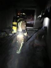 Heridas dos personas en el incendio de una vivienda en San Javier