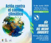 Molina de Segura celebra el Día Mundial del Medio Ambiente el sábado 5 de junio con actividades en el Parque de la Compañía, bajo el lema Actúa contra el cambio climático