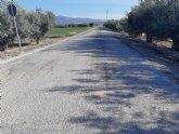 Se incluyen varias v�as rurales de cuatro pedan�as en el Registro Municipal de Caminos del Ayuntamiento de Totana
