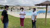 El Ayuntamiento de Puerto Lumbreras ofrece una nueva programación de cursos de natación en las piscinas de verano