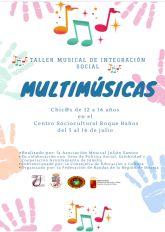 Taller Musical de Integración Social en Jumilla
