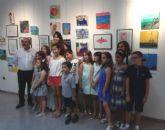 Los alumnos del taller municipal de dibujo, pintura y escultura, muestran sus obras