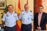 Despedida del Coronel Jefe de la Base Aérea de Alcantarilla y presentación de su relevo