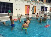 Una jornada de juegos de agua cierra las propuestas deportivas del proyecto europeo 'Do-U-Sport' en Las Torres de Cotillas