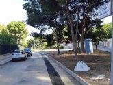 Finalizan las obras de renovaci�n urgente de la tuber�a principal de agua potable en la calle Badajoz, en la urbanizaci�n La Charca