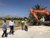 La Comunidad invierte 400.000 euros en el colector de aguas residuales de La Anchosa