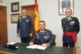 Acto de toma de posesión y relevo de mando en la Base Aérea de Alcantarilla