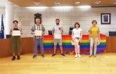 Entregan los premios del I Concurso de Poes�a, Relato Breve y C�mic organizado por la Concejal�a de Igualdad con motivo del D�a del Orgullo LGTBI
