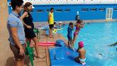 Éxito de participantes en los cursos de natación organizados por el Ayuntamiento de Archena