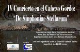 La Agrupación Musical Ntra. Sra. del Pasico de Torre-Pacheco, realizará un concierto en el Cabezo Gordo