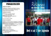 Los Rincones celebra sus fiestas en honor a San Cayetano