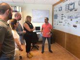 La estación depuradora de Mazarrón trata 15.000 metros cúbicos de agua al día