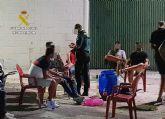 La Guardia Civil sorprende en Cieza a once jóvenes realizando un botellón incumpliendo las medidas de seguridad
