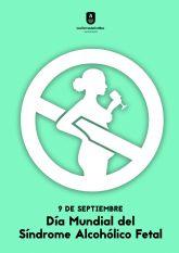 Las Torres de Cotillas se sumará a la conmemoración del Día Mundial del Síndrome Alcohólico Fetal