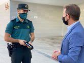El Alcalde recibe al nuevo Comandante de Puesto de la Guardia Civil de Torre Pacheco
