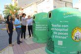 Los lumbrerenses colaborarán en la decoración del pabellón infantil del Hospital Virgen de La Arrixaca