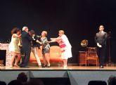 Las risas de 'Tres papás para Totó' inauguran 'V Certamen Juan Baño' de teatro amateur de Las Torres de Cotillas