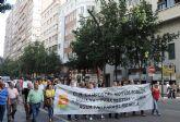 Campos del Río se manifiesta Por La Vida Del Río Mula en las calles de Murcia