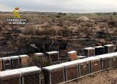 La Guardia Civil esclarece el incendio de 4.000 m2 de monte bajo en Mula