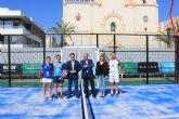 El cuadro final del Villa de San Javier Challenger arranca con la presentación oficial en la pista central de Plaza de España