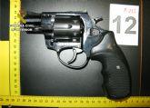La Guardia Civil detiene a un experimentado delincuente por tenencia ilícita de armas