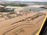 Los daños del temporal en infraestructuras p�blicas y privadas de la Regi�n ascienden a casi 600 millones