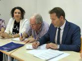 El Ayuntamiento firma un Convenio de Colaboración con la Asociación de Pensionistas y Jubilados 'Virgen del Rosario' de Torre Pacheco