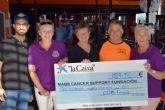 La asociaci�n MABS recibe un donativo de casi 200 euros de manos del gimnasio