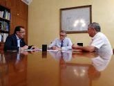 El presidente de la CHS se reúne con los alcaldes de Ojós y Ulea para estudiar los efectos de la pasada gota fría