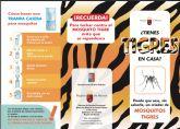 El Ayuntamiento actúa contra el mosquito tigre y pide colaboración ciudadana para acabar con la plaga