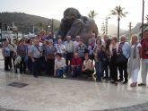 Visita a La Unión, Cabo de Palos y Cartagena de los usuarios del centro de día de personas mayores