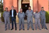 El concejal de Infraestructuras agradece la labor realizada por la concesionaria del servicio del cementerio municipal