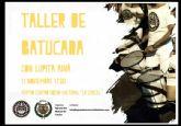 La Agrupación Musical de Totana organiza un Taller de Batucada con Lupita Aína