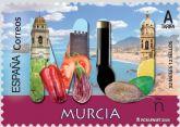 Correos emite un sello dedicado a la Regi�n de Murcia