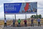 ASECOM y los empresarios de Alguazas siguen reclamando una solución para la salida al municipio del Arco del Noroeste