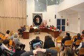 Escolares lumbrerenses y personas con discapacidad protagonizan el Pleno con motivo del Día de la Constitución