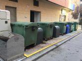 El PSOE señala la 'política errática' del PP en contenedores soterrados al existir 35 sin funcionar