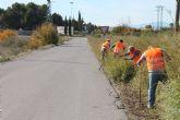 Contratados 33 desempleados agrícolas para hacer trabajos de reparación de caminos rurales, entre otros servicios
