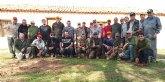 Una treintena de cazadores participaron ayer en el XXXIII Campeonato de Caza Menor con Perro