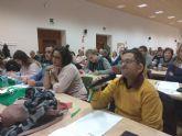La pleguera Teresa Cifuentes participó en el encuentro 'Construimos Mundo' en Valladolid