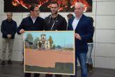 Eduardo Gómez gana el premio 'Domingo Valdivieso' con un cuadro sobre la Casa Solariega de la Cañadica