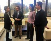 El consejero de Fomento e Infraestructuras se reúne con la alcaldesa de Beniel
